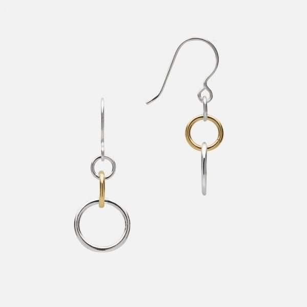 Beauly Earrings Silver and Gold