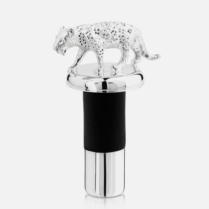 Bottle stopper-leopard