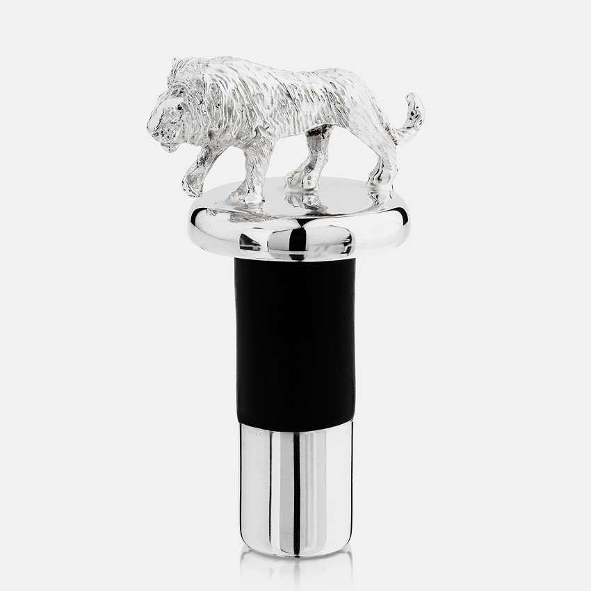 Bottle stopper-lion