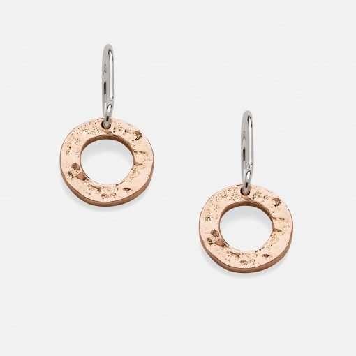 Cairnie Hoop Earrings - Silver & Gold