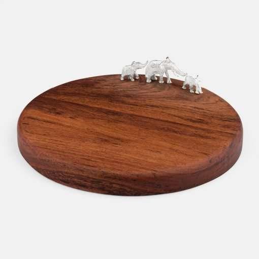 Medium Round Board - Elephant 1