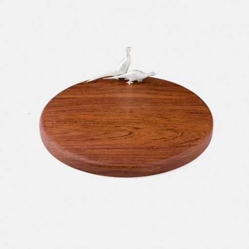 Medium Round Board - Pheasant 1