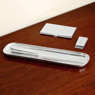 Pencil Tray & Paper Knife Set
