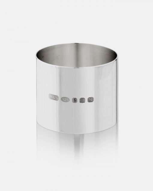 Silver Round Napkin Ring 1