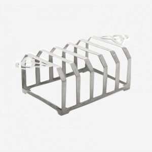 Silver Toast Rack large