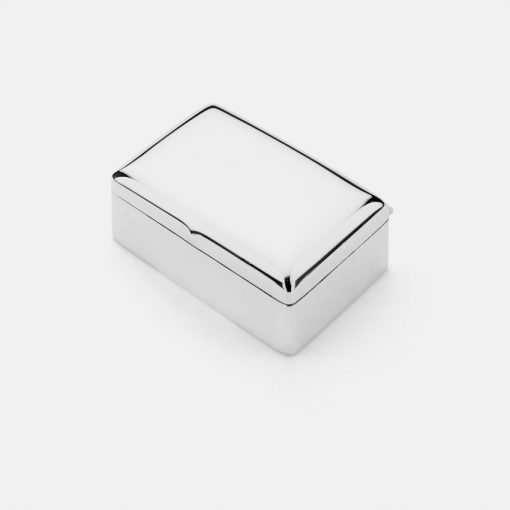 Silver Trinket Box 3