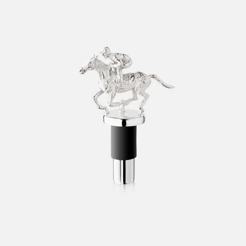 Jockey Wine Bottle Stopper