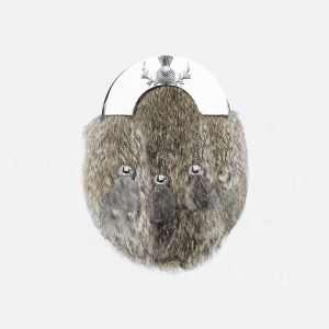 Rabbit Silver Sporran