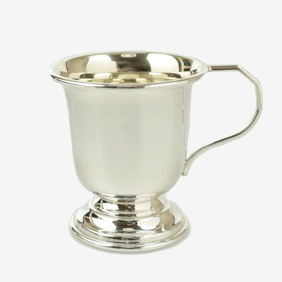 Silver Georgian Christening Cup