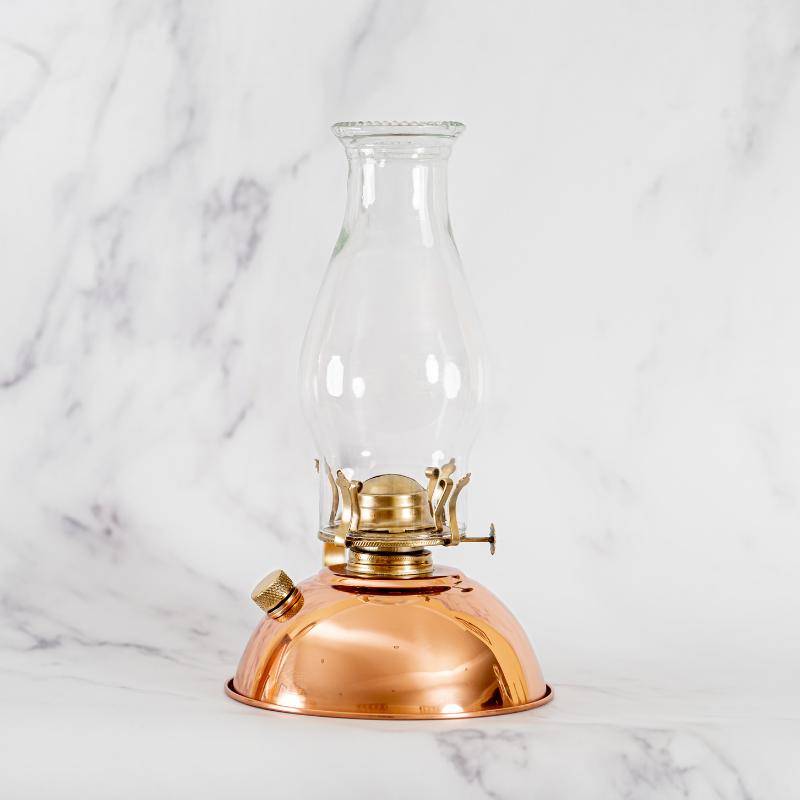 Antique Style Paraffin Lamp - Copper 1